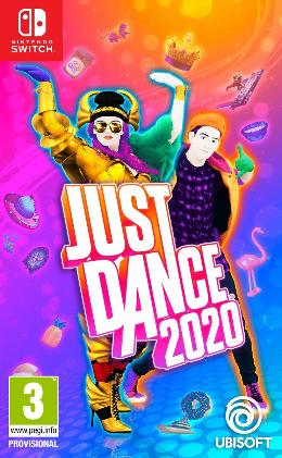 Carátula de Just Dance 2020 para Nintendo Switch
