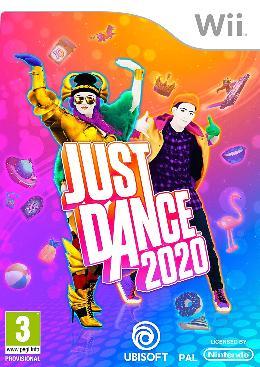 Carátula o portada Europea del juego Just Dance 2020 para Wii