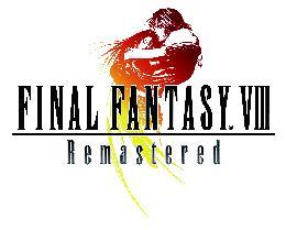 Carátula o portada Logo Oficial del juego Final Fantasy VIII Remastered para PC