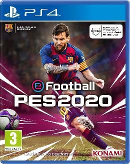 Carátula de eFootball PES 2020 para PlayStation 4