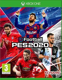 Carátula de eFootball PES 2020 para Xbox One