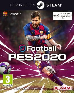Carátula de eFootball PES 2020 para PC