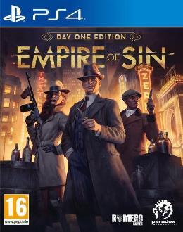 Carátula de Empire of Sin para PlayStation 4
