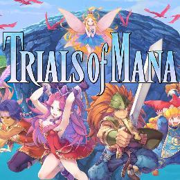 Carátula de Trials of Mana para Nintendo Switch