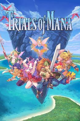 Carátula de Trials of Mana para PlayStation 4