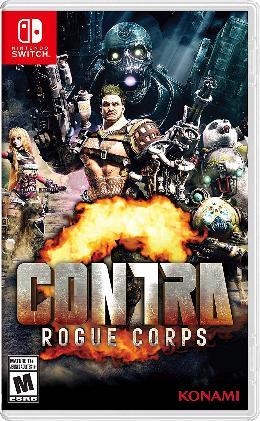 Carátula de Contra: Rogue Corps para Nintendo Switch