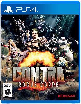 Carátula de Contra: Rogue Corps para PlayStation 4