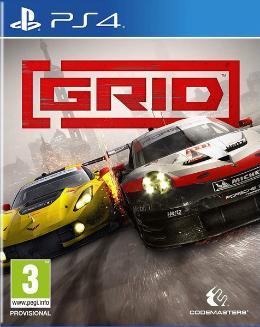 Carátula o portada Europea del juego GRID (2019) para PlayStation 4