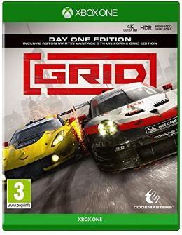 Carátula o portada Europea del juego GRID (2019) para Xbox One