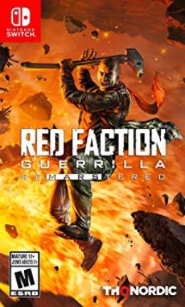 Carátula de Red Faction: Guerrilla Re-Mars-tered