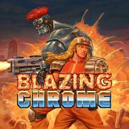 Carátula de Blazing Chrome para PlayStation 4