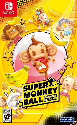 Carátula de Super Monkey Ball: Banana Blitz HD para Nintendo Switch