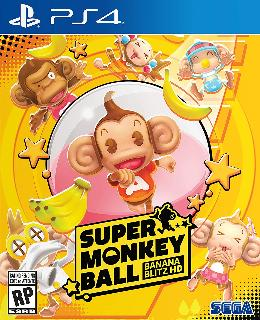Carátula de Super Monkey Ball: Banana Blitz HD para PlayStation 4