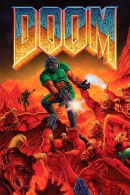 Carátula de Doom para Xbox One