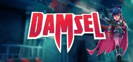 Carátula o portada Portada en Steam del juego Damsel para PC