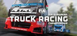 Carátula o portada No oficial (Montaje) del juego FIA European Truck Racing Championship para PlayStation 4