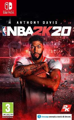 Carátula de NBA 2K20 para Nintendo Switch
