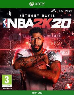 Carátula de NBA 2K20 para Xbox One