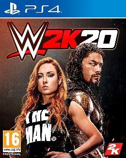 Carátula de WWE 2K20 para PlayStation 4