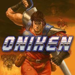 Carátula o portada Europea del juego Oniken: Unstoppable Edition para Nintendo Switch