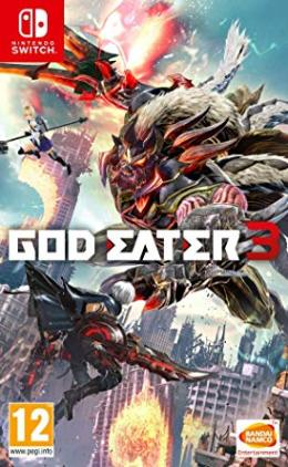 Carátula de God Eater 3 para Nintendo Switch