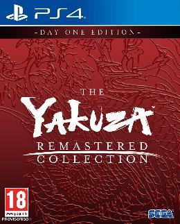 Carátula de The Yakuza Remastered Collection para PlayStation 4