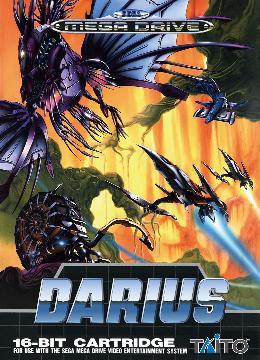 Carátula de Darius para Mega Drive