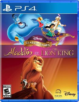 Carátula de Disney Classic Games: Aladdin and The Lion King para PlayStation 4