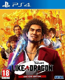 Carátula de Yakuza: Like a Dragon para PlayStation 4