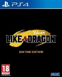 Carátula o portada Logo Oficial del juego Yakuza: Like a Dragon para PlayStation 4