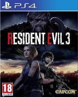 Carátula de Resident Evil 3 (2020) para PlayStation 4