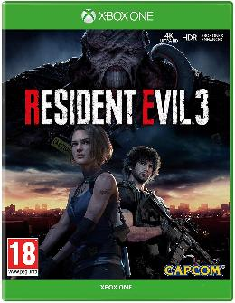 Carátula de Resident Evil 3 (2020) para Xbox One
