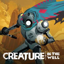 Carátula de Creature in the Well para Nintendo Switch