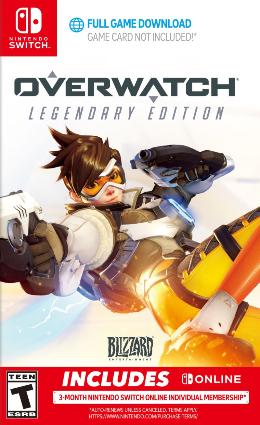 Carátula de Overwatch para Nintendo Switch