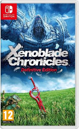 Carátula de Xenoblade Chronicles: Definitive Edition para Nintendo Switch