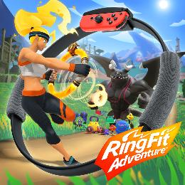 Carátula de Ring Fit Adventure para Nintendo Switch