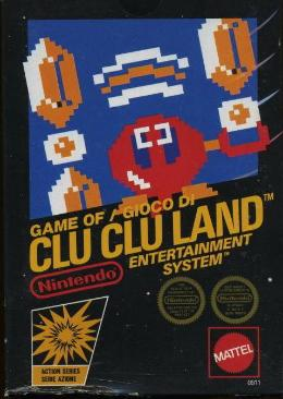 Carátula de Clu Clu Land para NES
