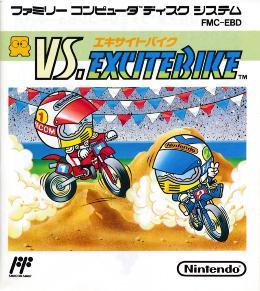Carátula de VS. Excitebike para NES