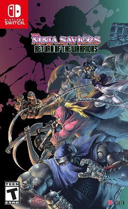 Carátula de The Ninja Saviors: Return of the Warriors para Nintendo Switch