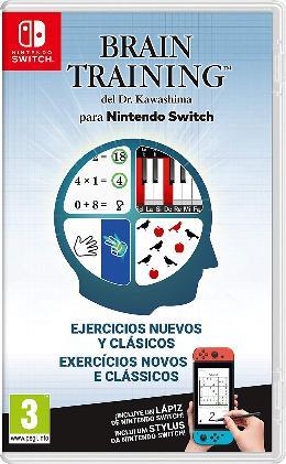 Carátula de Brain Training del Dr. Kawashima para Nintendo Switch
