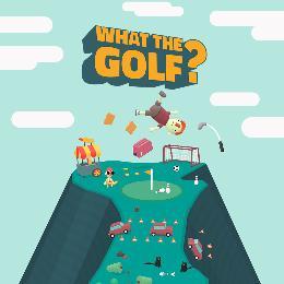 Carátula de What the Golf? para Nintendo Switch