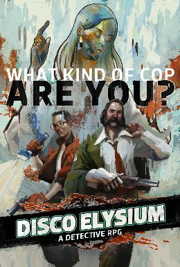 Carátula de Disco Elysium para PC