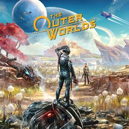 Carátula de The Outer Worlds para Nintendo Switch