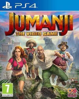 Carátula de Jumanji: The Video Game