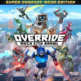 Carátula de Override: Mech City Brawl – Super Charged Mega Edition