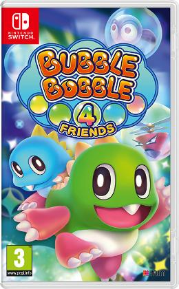 Carátula de Bubble Bobble 4 Friends