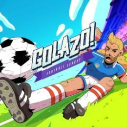 Carátula de Golazo! Football League para Nintendo Switch