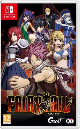 Carátula de Fairy Tail para Nintendo Switch