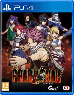 Carátula de Fairy Tail para PlayStation 4