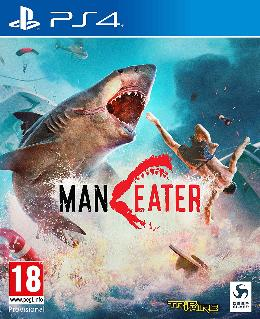 Carátula de Maneater para PlayStation 4